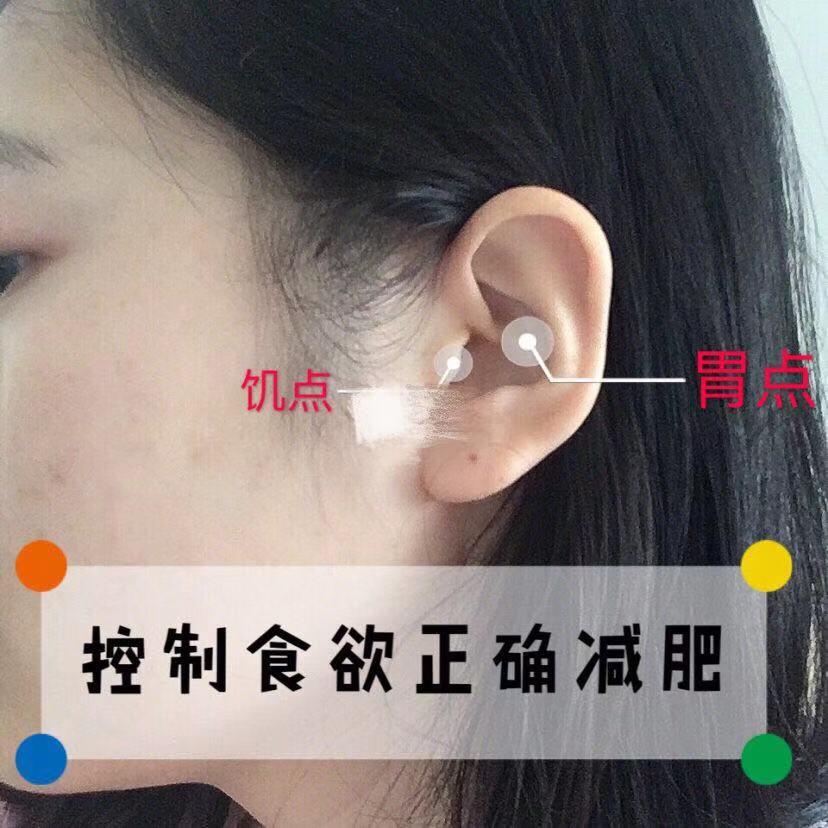抑制食欲正确减肥 耳朵上这两个穴位要常按